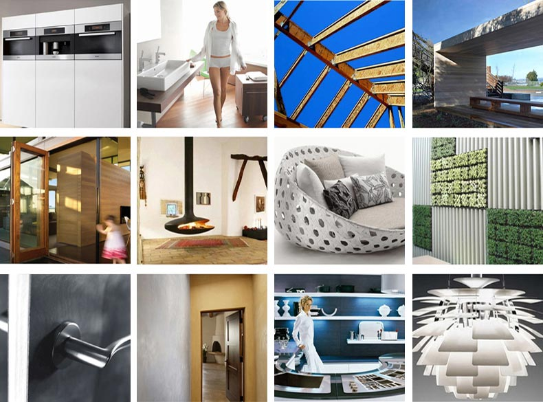 Products links to product recomendations on the wf2studio modern plan collection website
